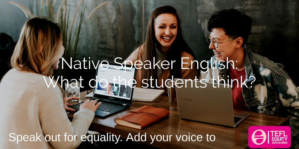 What do students think and feel about Native Speaker English? by Steve McVeagh
