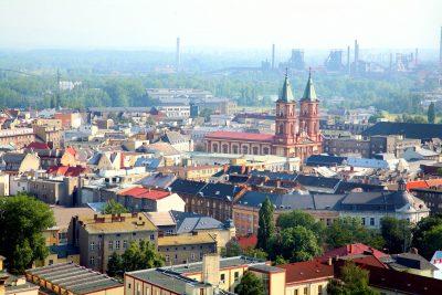 Ostrava city centre