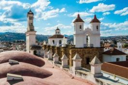 Church in Sucre, Bolivia