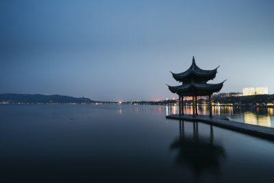 Hangzhou lakeside