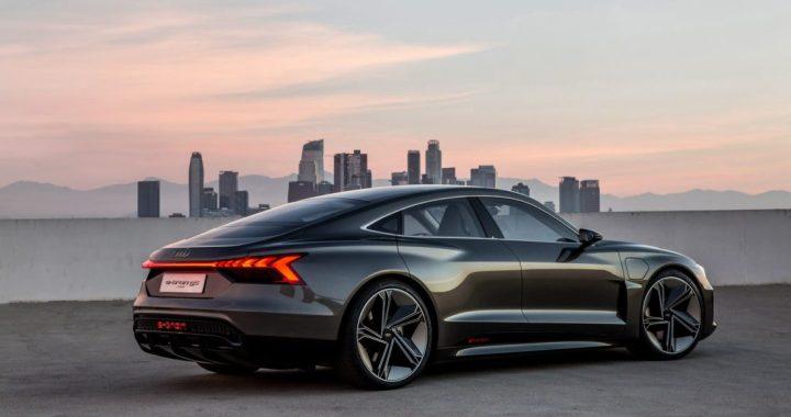 La nueva película de Los Vengadores contará con el Audi e-tron GT Concept Car