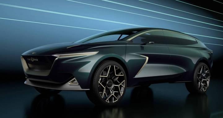 El Lagonda All-Terrain Concept de Aston Martin será el primer eléctrico de Lagonda en producción