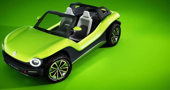 El último concept de Volkswagen es un buggy eléctrico construido exclusivamente para divertirse