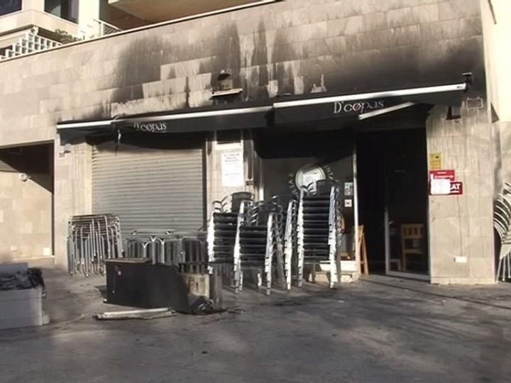 24/02 Incendi intencionat a un bar de Vila