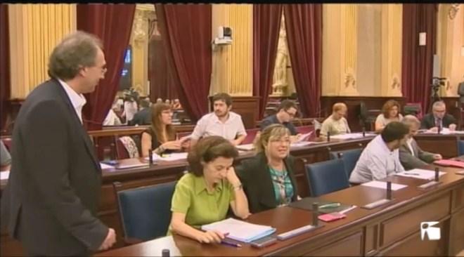 17/05 Sessió plenària al Parlament de les Illes