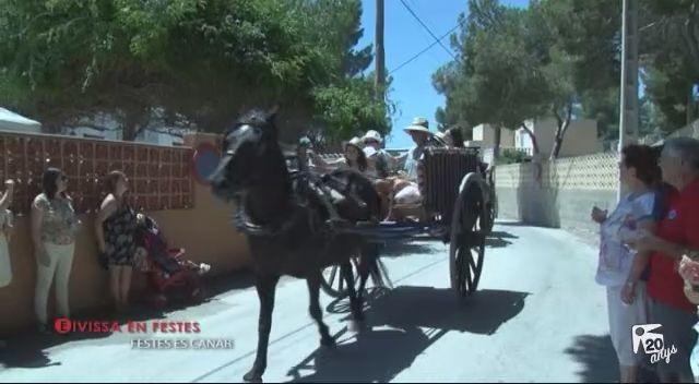 15/07 Eivissa en Festes: Festes Es Canar