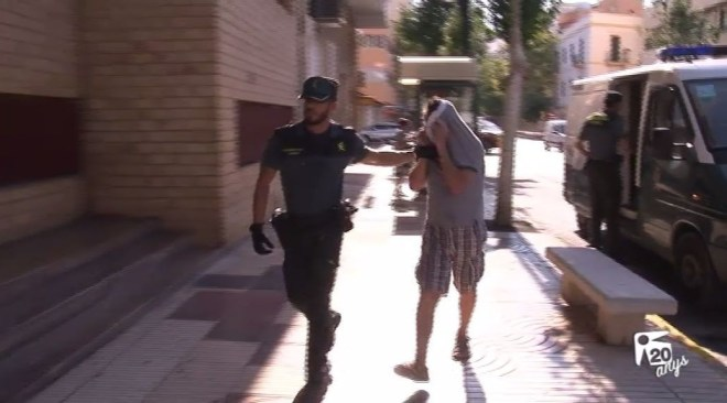 27/07 L'autor de l'incendi de Sant Antoni, a presó