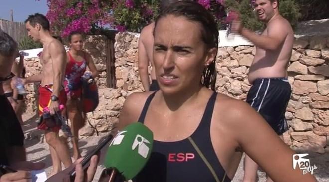 29/08 Susana Sevillano guanya la Travessia popular festes de Sant Bartomeu