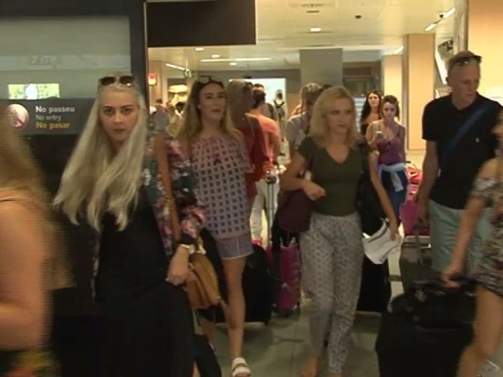 01/09 Més de 50.000 passatgers avui a l'aeroport
