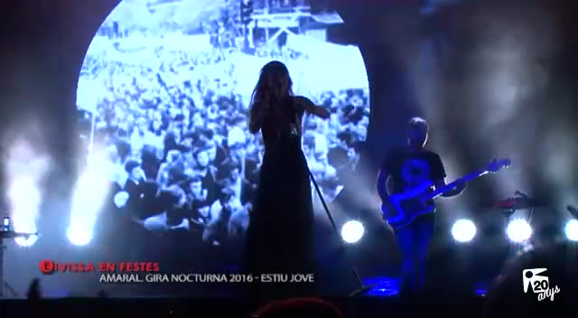 09/09 Eivissa en festes - Concert Amaral Gira Nocturna 2016 - Estiu Jove