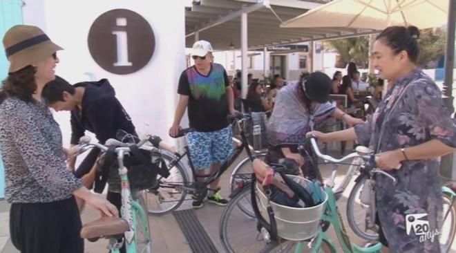 22/09 Dia del Turista sobre rodes a Formentera