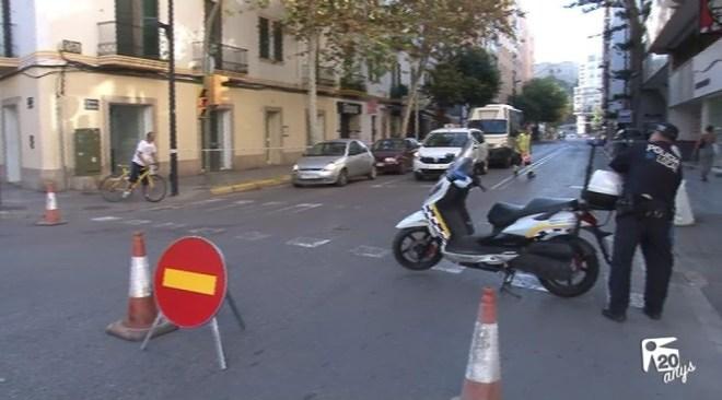 03/10 Inici de les obres del canvi de sentit de les principals avingudes de Vila