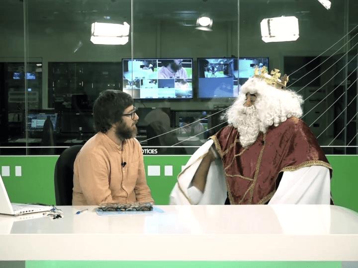 31/12 Sardinas negras: El rey mago Melchor