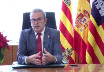 Missatge d'any nou 2018 de Vicent Torres, President del Consell d'Eivissa