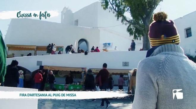 25/02 Eivissa en festes: Fira d'artesania al Puig de Missa