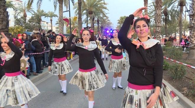 13/02 Unes 1.500 persones participen al Carnaval de Sant Antoni