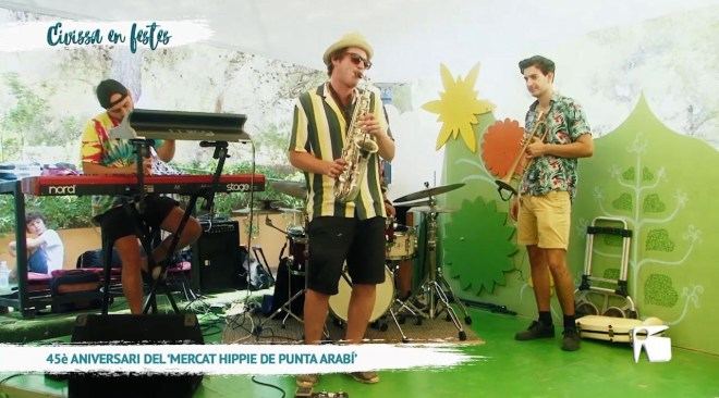 11/07 Eivissa en Festes – 45e aniversari mercat hippie de Punta Arabí