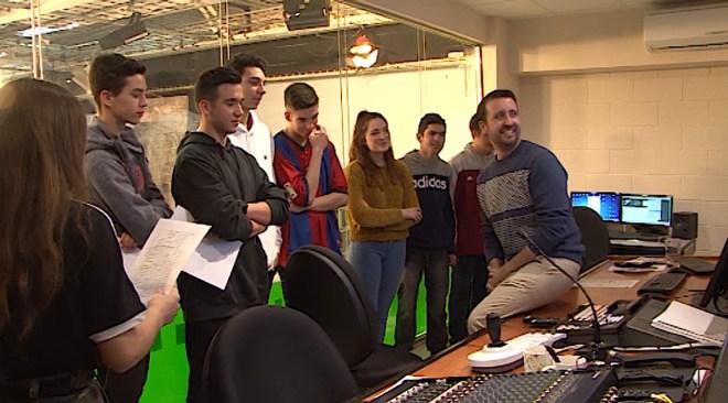 07/02 Estudiants de l'IES Sa Serra visiten les instal·lacions del Grupo Prensa Pitiusa