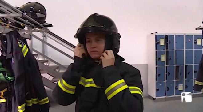 08/03/2019 Montse Mir és l'única bombera del Consell d'Eivissa