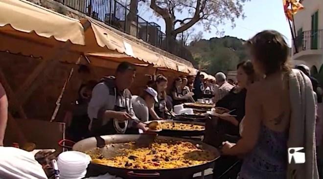 25/03/2019 Més de 250 kilos de sèpia es van repartir a la segona edició del Festival Gastronòmic de la Sèpia