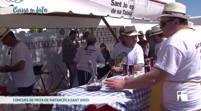 15/04/2019 Eivissa en Festes – Concurs de Frita de Mantances a Sant Jordi