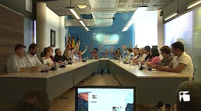 06/06/2019 Sant Antoni endureix els requisits per ser cap de la Policia Local