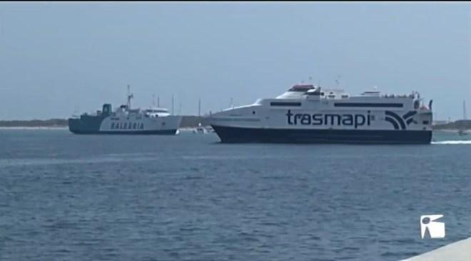 03/07/2019 Formentera vol que es posin límits als enllaços marítims