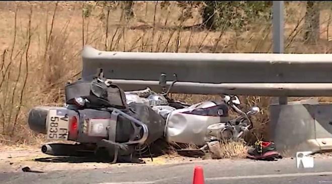 09/07/2019 Mor un motorista de 41 anys a la carretera de Sant Josep