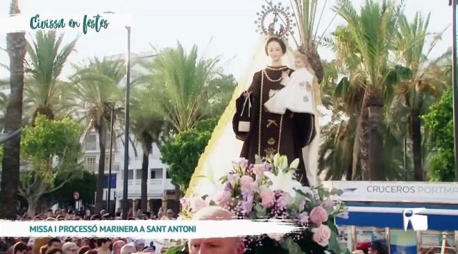 29/07/19 Eivissa en Festes - Missa i processo Marinera a Sant Antoni