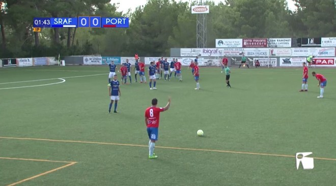 08/09/2019 Futbol: CF Sant Rafel - SD Portmany