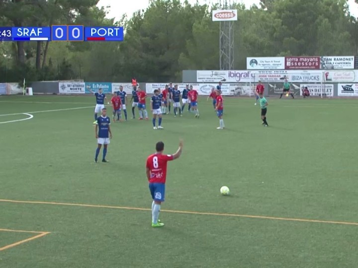08/09/2019 Futbol: CF Sant Rafel – SD Portmany