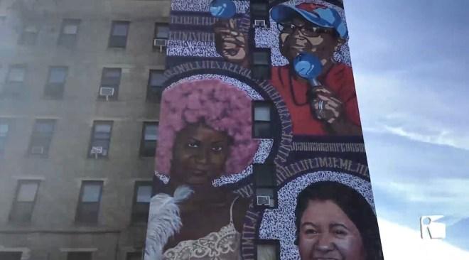 11/11/2019 Mural reivindicatiu amb segell pitiüs al Bronx