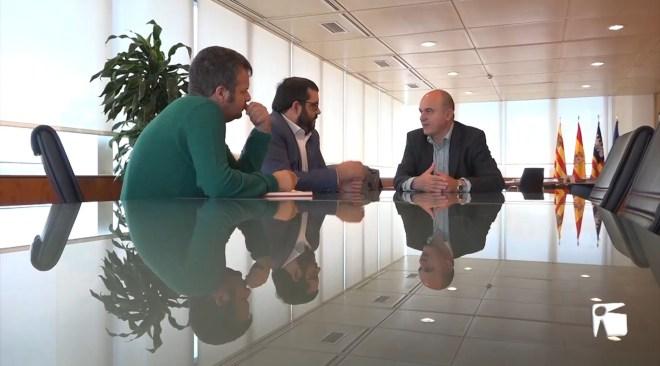 13/11/2019 Primera reunió institucional entre Marí i Vidal