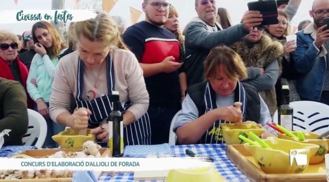 07/12 Eivissa en Festes - Concurs d'elaboració d'Allioli a Forada