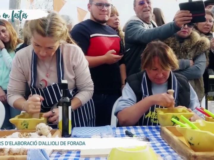 07/12 Eivissa en Festes – Concurs d'elaboració d'Allioli a Forada