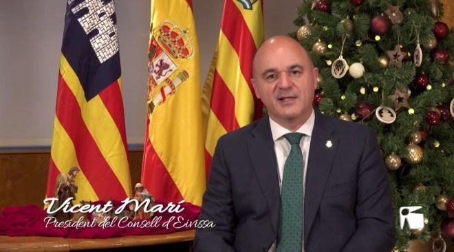 Missatge de Nadal 2019 de Vicent Marí, president del Consell d'Eivissa