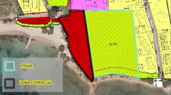24/02/2020 Santa Eulària protegirà el bosc de Cala Pada