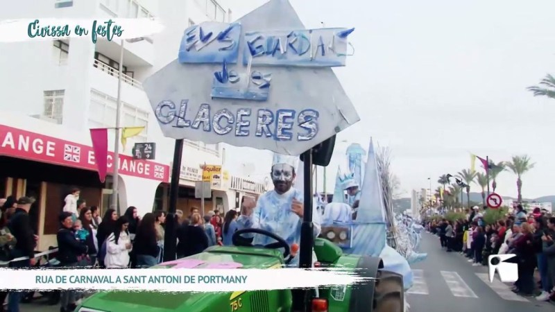 25/02/20 Eivissa en Festes – Rua de carnaval a Sant Antoni de Portmany