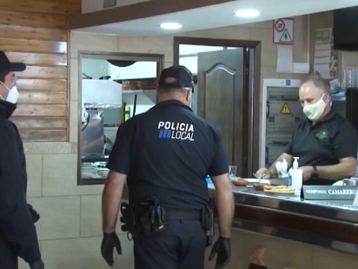 13/05/2020 Control policial a bars i restaurants