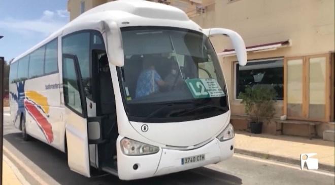 22/07/2020 Conflicte amb l'empresa de busos de Formentera