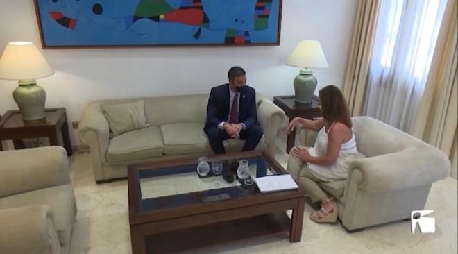 12/08/2020 Armengol demana a Sánchez més controls als aeroports
