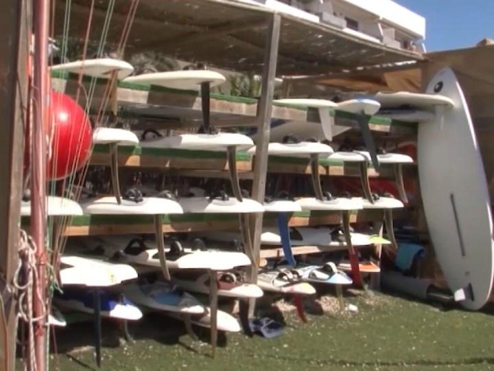 20/08/2020 Rebrot a l'escola de vela de Formentera