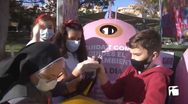 17/11/2020 Exemple de conscienciació i solidaritat dels alumnes de La Consolació