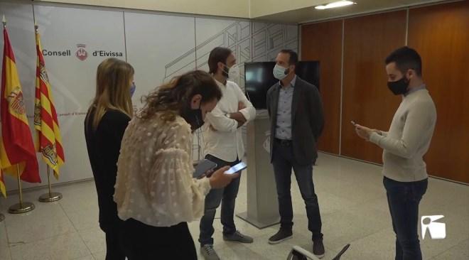 23/11/2020 Els taxistes d'Eivissa aprenen reanimació cardiopulmonar