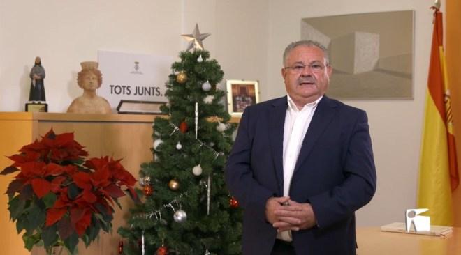 24/12/2020 Missatge de Nadal de l'ajuntament de Sant Joan