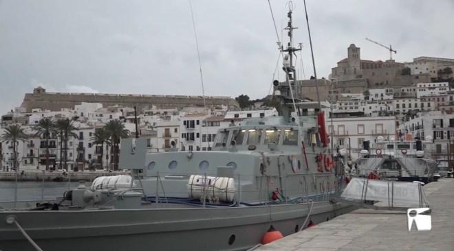 20/01/2021 El patruller Formentor, a Eivissa