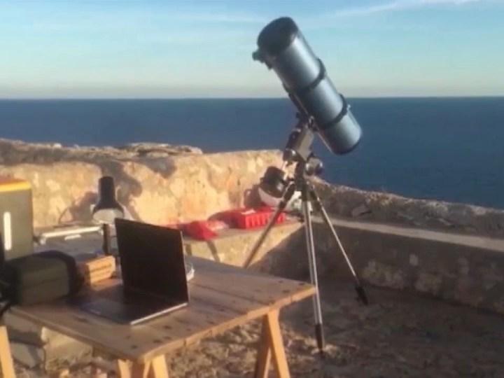 19/01/2021 Neix l'associació astronòmica de Formentera