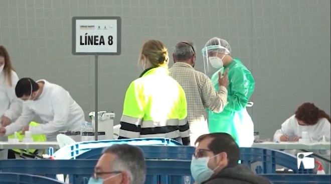 26/01/2021 69 positius detectats en el cribratge de Sant Antoni
