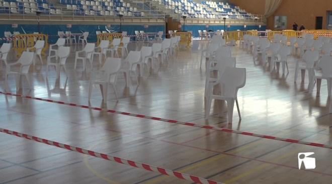 03/02/2021 Tot a punt per al cribratge massiu de Sant Josep a Can Guerxo