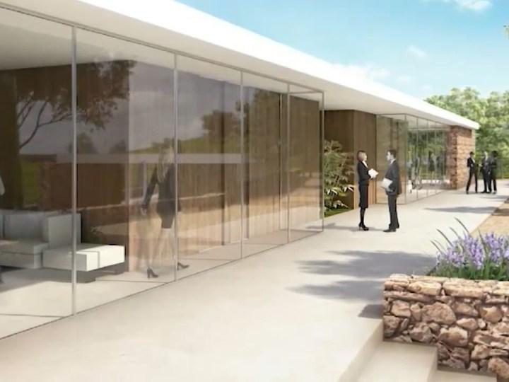 09/03/2021 Comencen les obres del primer tanatori públic d'Eivissa